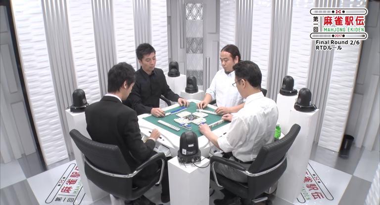 麻雀駅伝2017 Final Round 2/3