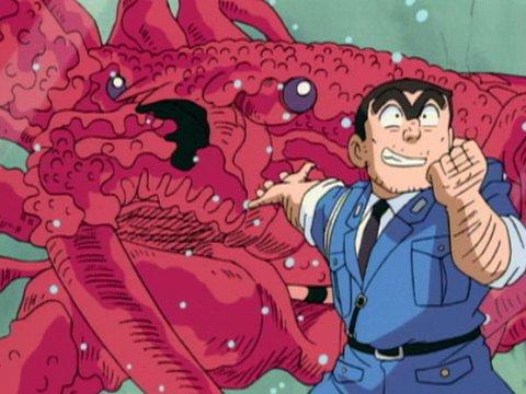 第234話 エビ!カニ!イカ! 巨大バイオ生物の襲来
