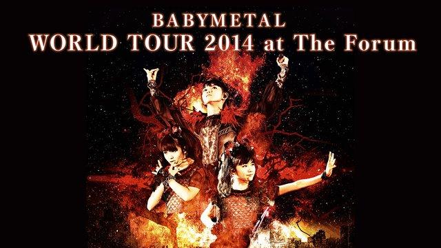 BABYMETAL WORLD TOUR 2014 at The Forum