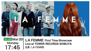 LA FEMME Showcase Live at TOWER RECORDS SHIBUYA