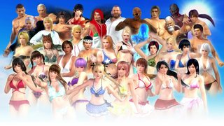 『DEAD OR ALIVE 5 Last Round』「極上バカンスコスチューム」 紹介ムービー