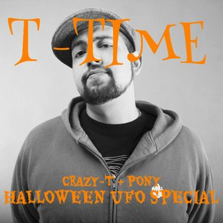 CRAZY-T PRESENTS: T-TIME (10月編) GUEST: PONY