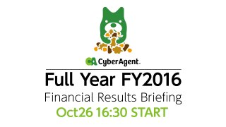 FY2017 Financial Results Briefing