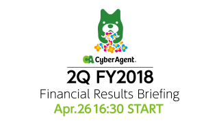 FY2018 Q2 Financial Results Briefing