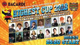 HIGHEST CUP 2018 - Road to HIGHEST MOUNTAIN 2018 -