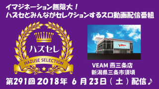 【VEAM燕三条店】第291回ハズセレ