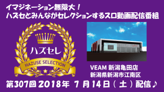 【VEAM新潟亀田店】第307回ハズセレ