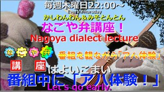 「なごや弁講座 ~Nagoya dialect lecture~」Vol.31