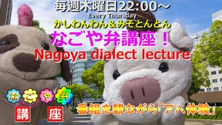 「なごや弁講座 ~Nagoya dialect lecture~」Vol.35