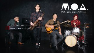 Mahogany Organ All-Stars  100Landscapes Release Tour Live in TheGLEE!