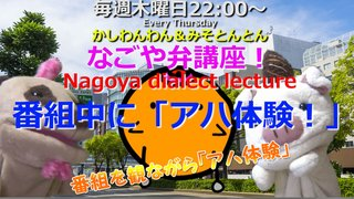 「なごや弁講座 ~Nagoya dialect lecture~」Vol.39