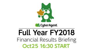 FY2018 Q4 Financial Results Briefing