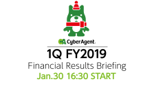 FY2019 Q1 Financial Results Briefing