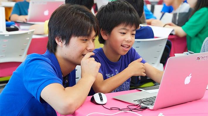 "Photos: ""Tech Kids Grand Prix"" programming contest held in 2018"