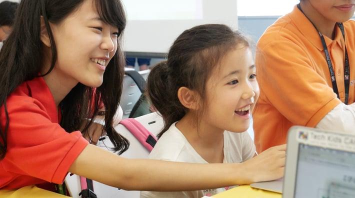 Scenes from Tech Kids School