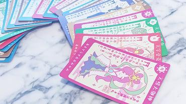 CHIE神社 守護神さま札  サービス内のコーナーをグッズ化/カードデザイン/キャラクターデザイン/イラスト作成
