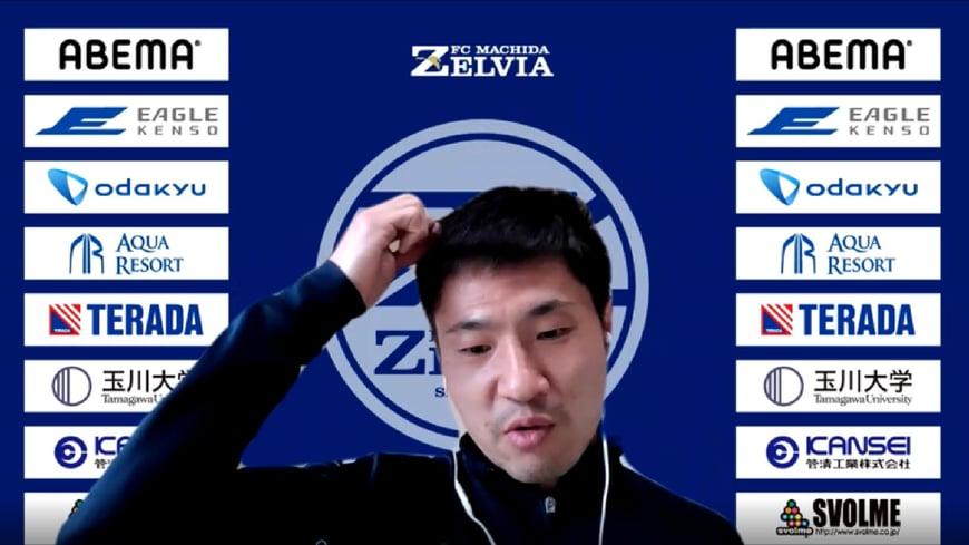 「ずっと褒めちゃったな。逆に中島選手からどう思われているかも知りたいんだよね」照れるハンジェさん。