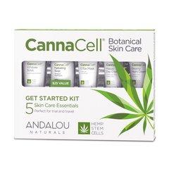 ANDALOU NATURALS(アンダルー ナチュラルズ) CannaCell® ボタニカルトライアルキットの商品画像