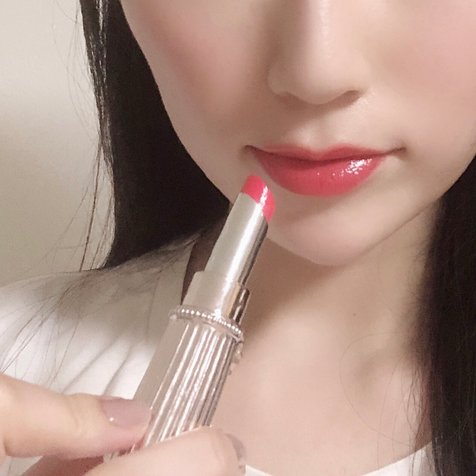 MAIRA さんが投稿した JILL STUART Beauty リップブロッサム 38 tulip red のクチコミ画像