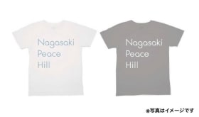 An original Japan-U.S. Peace Meeting T-shirt