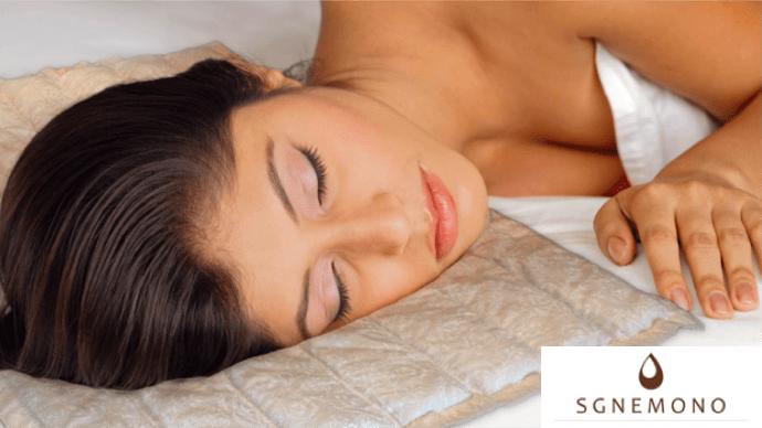 天然石を使用した「枕の上に置く枕」SGNEMONO(スグネモノ)