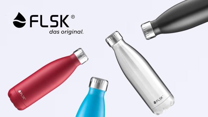 スタイリッシュで高性能。手放せない秀逸ボトルFLSK(フラスク)