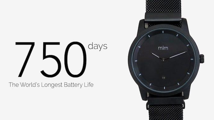 デザインとスマートウォッチのハイブリッド腕時計「mim watch」