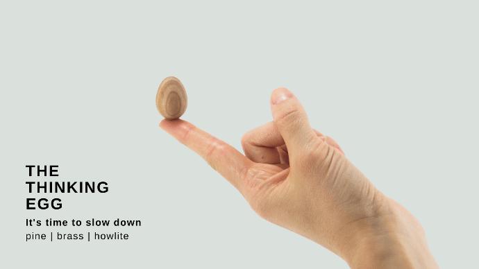 忙しい日常生活の中で自分だけの時間を取り戻す癒しツール。Thinking Egg