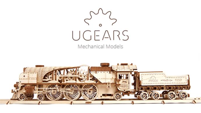 芸術が趣味になる木製のメカニカル組立キット「ユーギアーズ」プロジェクト第2弾!