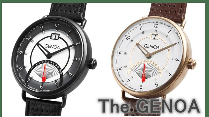 ビンテージスクーターをモチーフにしたユニークデザイン腕時計 The GENOA