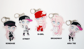 【Limited only to makuake】 Big acrylic key chain (5 varieties)
