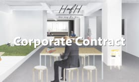 "【Cooperate Contract】 ""Work in HafH"" one year membership (maximum of 20 people)"