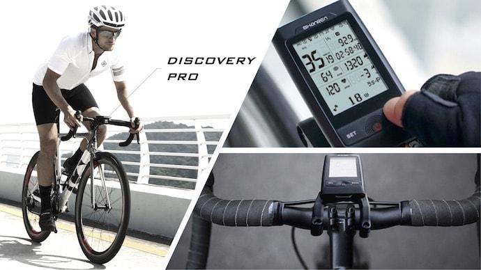 ナビ、ヘッドライト、速度表示など、多機能搭載サイクルコンピュータ「Di-Pro」