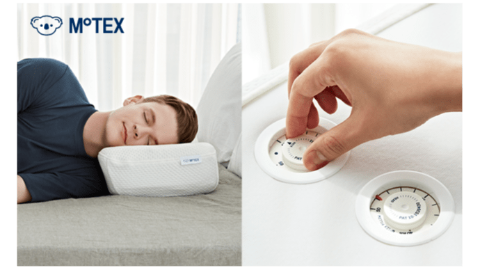 Makuake 高さ調節自由自在「枕」モテックスピローで上質の眠りをセルフコーディネイト