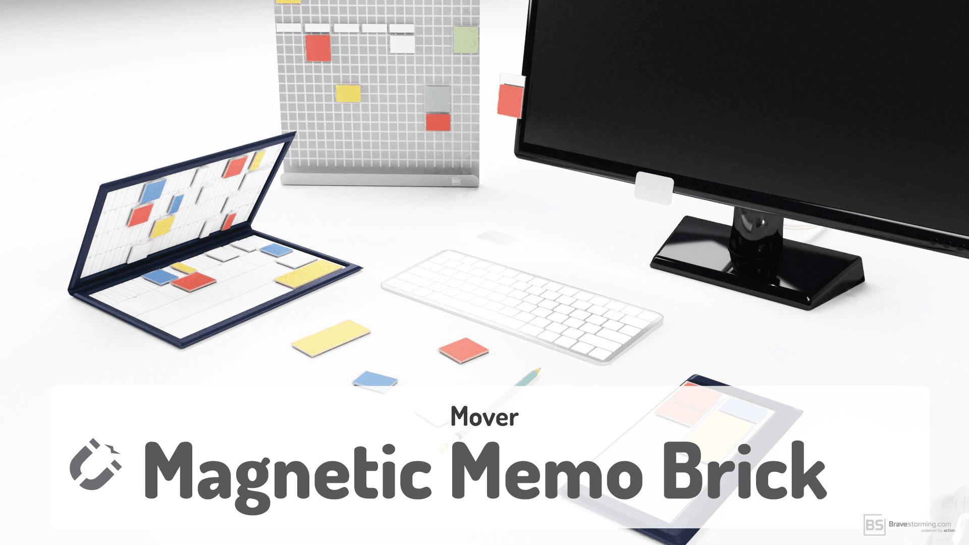 Makuake Mover :付箋+マグネットが予定管理のストレスをゼロにする新感覚手帳型ツール