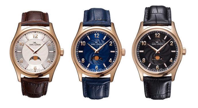 一部に限らない日本製高級ムーンフェイズ時計「カルレイモン」、ついに新モデル登場!