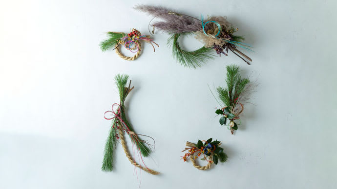 Makuake|おしゃれしめ縄で令和を祝う。嵯峨御流師範が作る美しいしめ縄&年賀状
